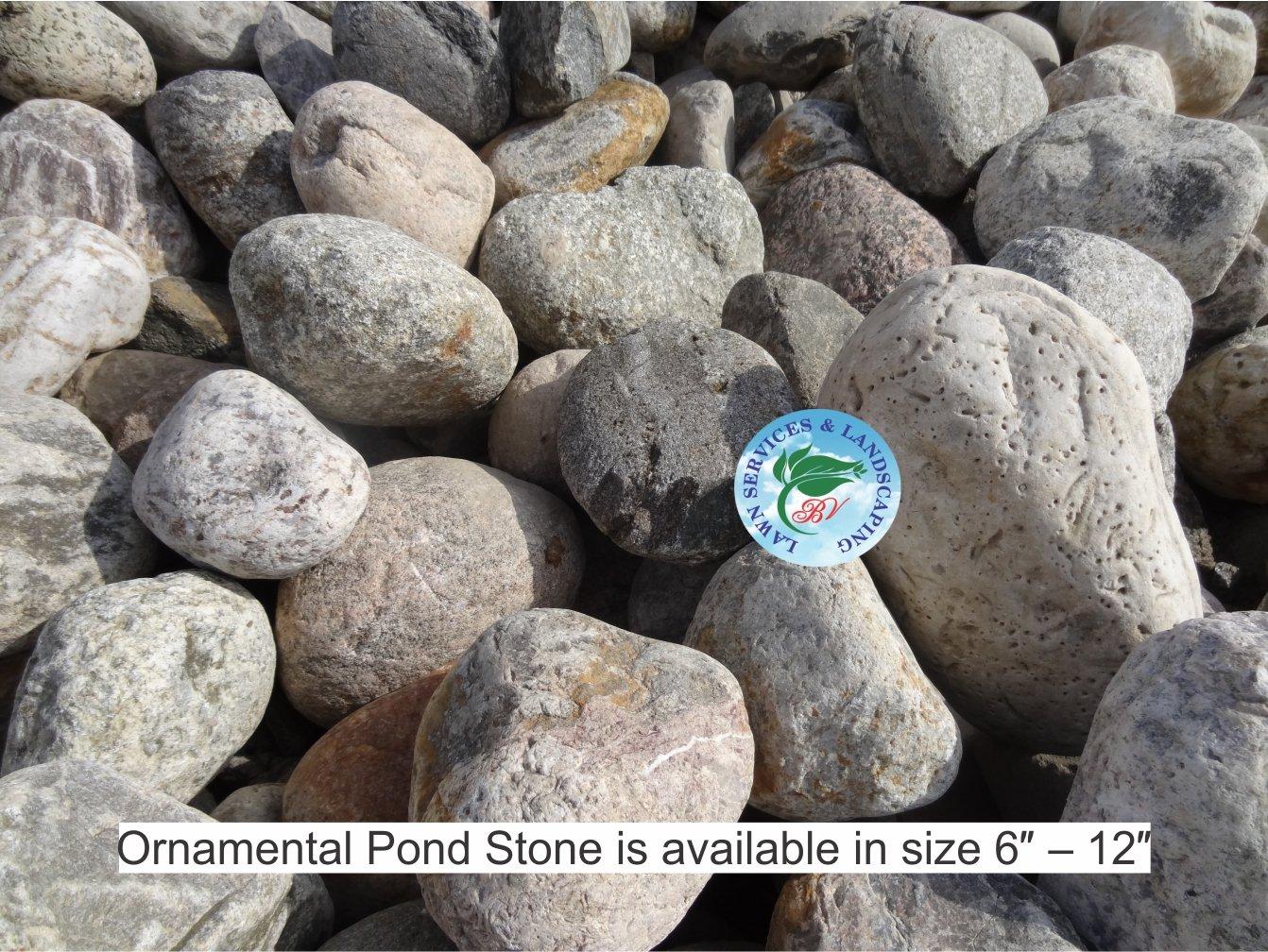 6-12-inch-Ornamental-Pond-Stone