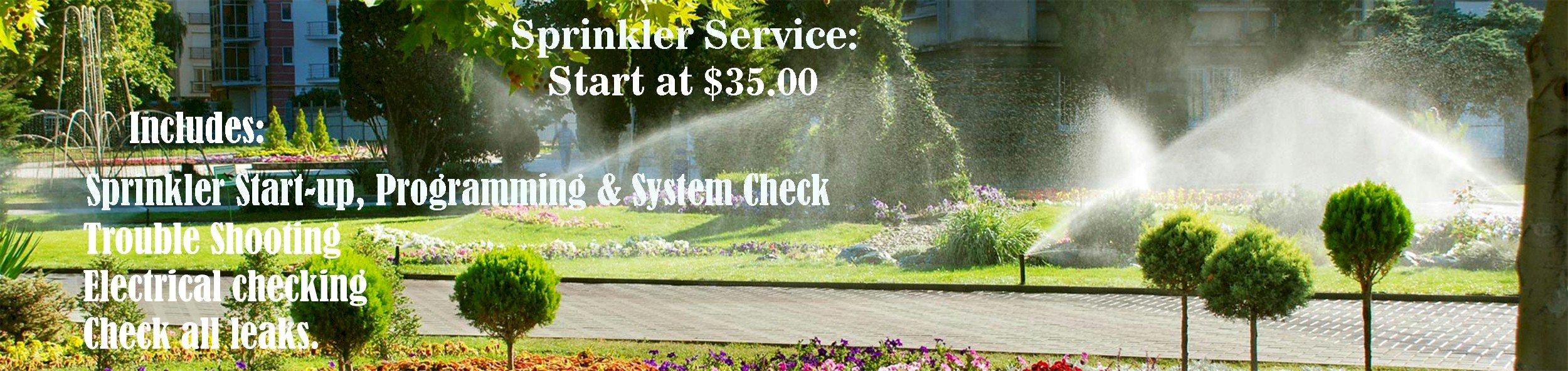 Sprinkler Service