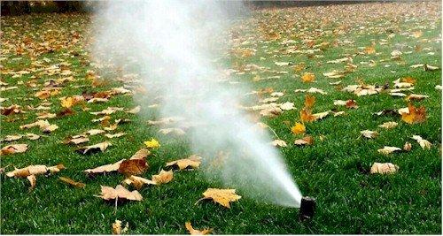 Sprinkler Blowout