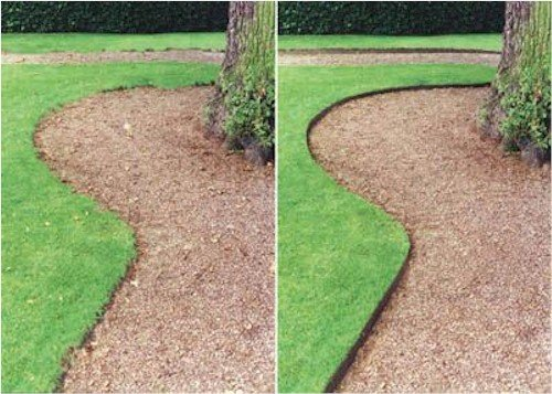 Cedar Landscape Edging
