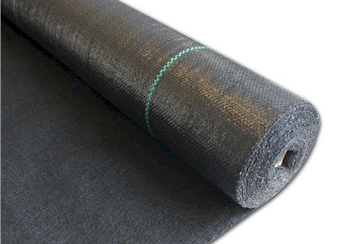 Install Weed Control Fabric